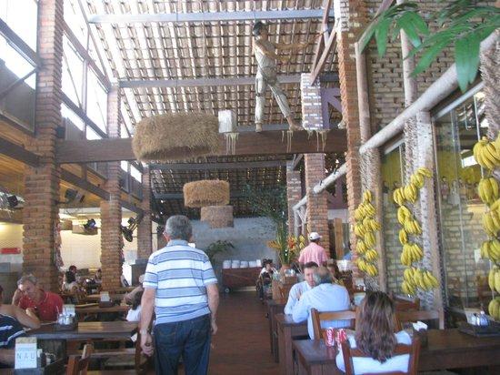 Mangai : interior do restaurante