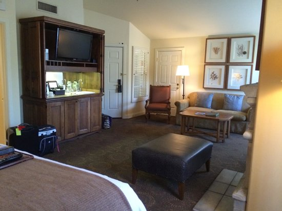Fairmont Scottsdale Princess : casita location at Fairmont
