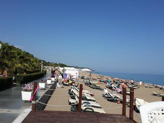 Amara Dolce Vita Luxury: Plajdan bir görüntü