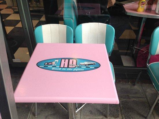 HD Diner Rivoli: awesome decor