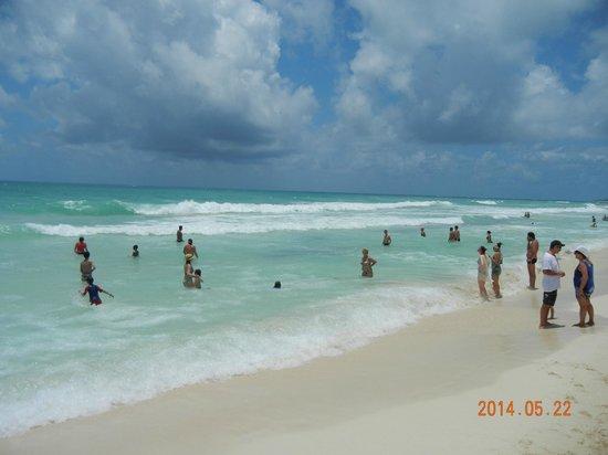 IBEROSTAR Paraiso Del Mar : Praia