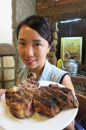 La Burrasca: Best steak in my life