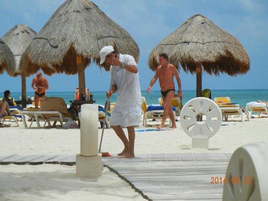 IBEROSTAR Paraiso Del Mar: Praia