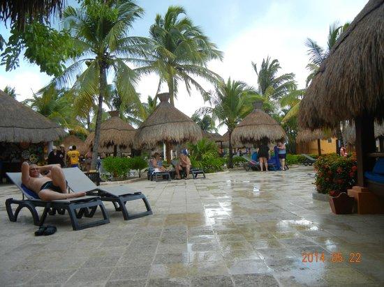 IBEROSTAR Paraiso Del Mar: Chapéus de sol