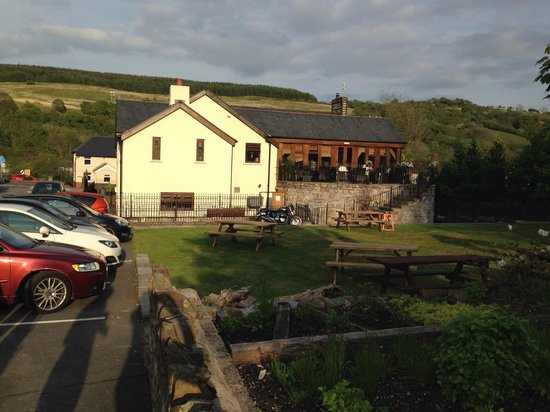 Pen y Cae Inn : View from the garden