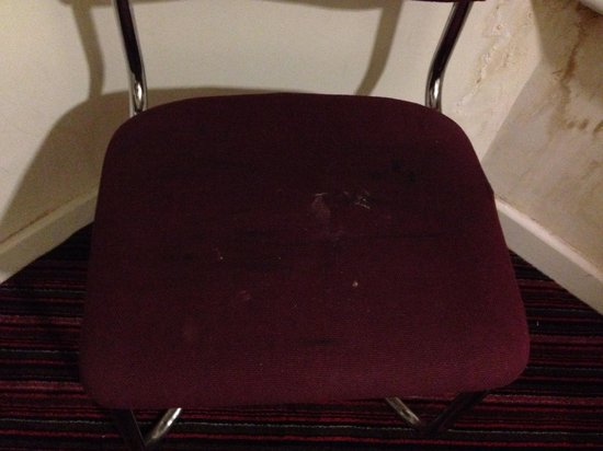 Stage Hotel: Stained chair
