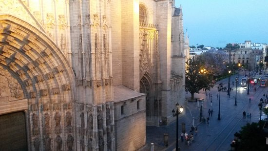 Puerta Catedral Suites: View from the suite number 5