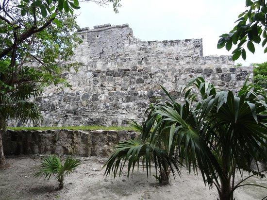 Museo Maya de Cancun : ruins outside