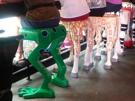 Rainforest Cafe Cute bar stools