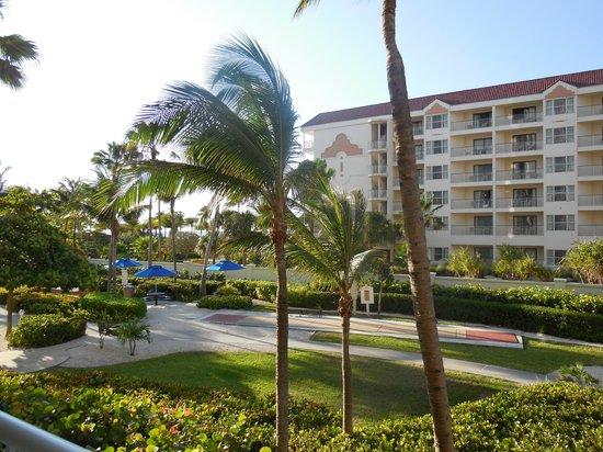 Marriott's Aruba Surf Club: View outside Unit; North