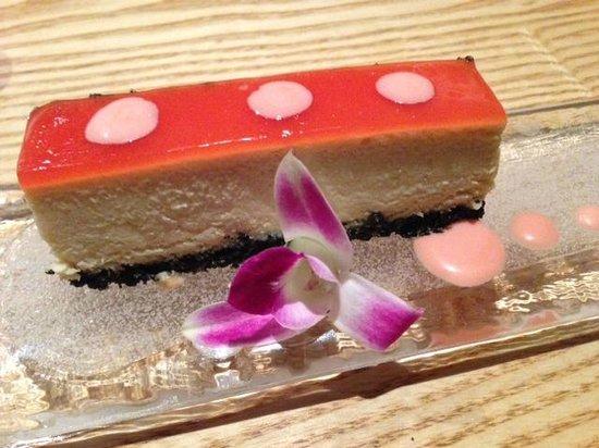 Nobu : Tofu cheese cake dessert