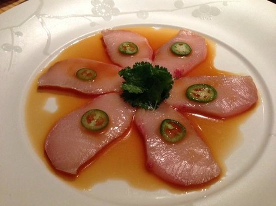 Yellowtail Sashimi With Jalapeno Recipe Nobu