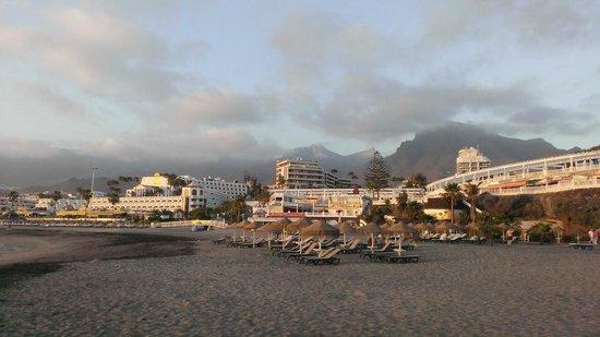 Sunset Harbour Club: Ближайший пляж и набережная (2шезлонга+зонт=15 евро на день)
