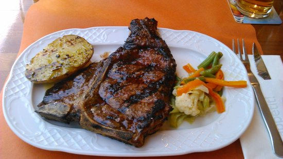 Steak House El Rincon: t bone