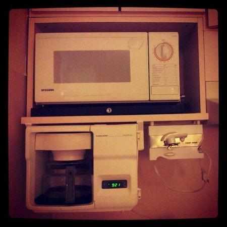 Aloft Sunnyvale : Microwave