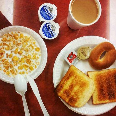 Aloft Sunnyvale : Breakfast