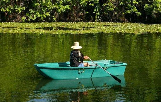 Zopango Island: Stroll around Zopango in your own rowing boat