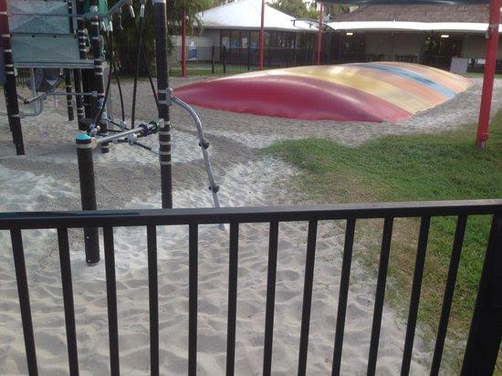 NRMA Treasure Island Holiday Park: Bouncy pillow & play area