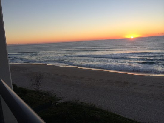 The Penthouses: sunrise from your own private balcony