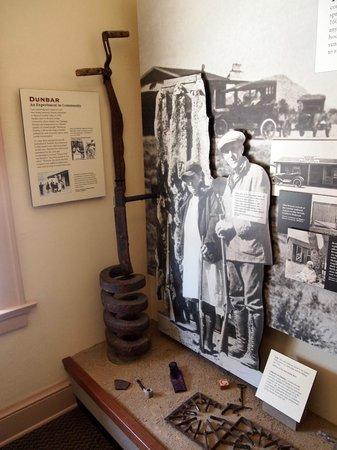 Mojave National Preserve: Museum inside Kelso Depot