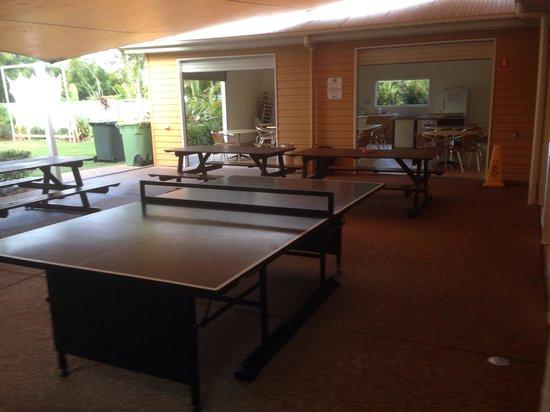 NRMA Treasure Island Holiday Park: Kitchen & family areas