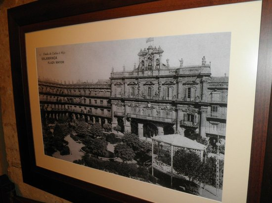 Meson Cervantes: One of the old photographs on display