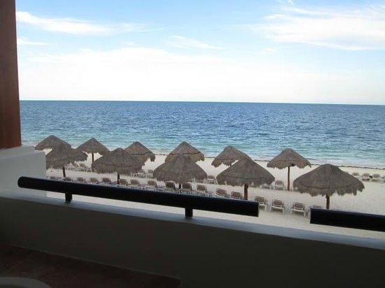 Now Sapphire Riviera Cancun : oceanview from our room