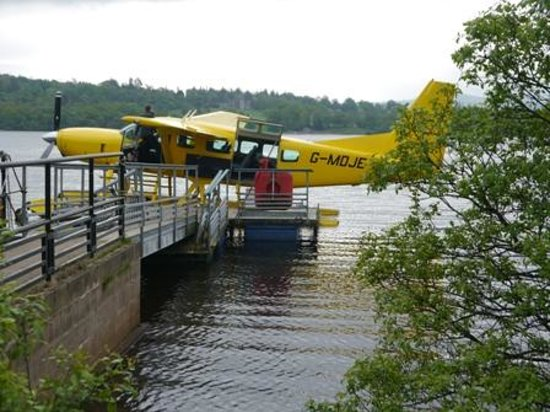 Loch Lomond Seaplanes: Just before take-off