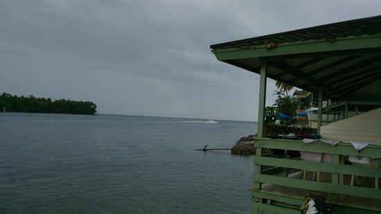 Madang Resort Hotel: View from bungalow at Madang Hotel Resort