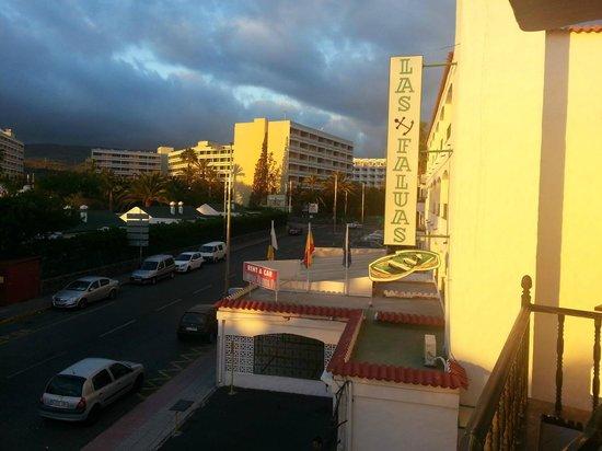 Apartamentos Las Faluas: Veduta dalla camera