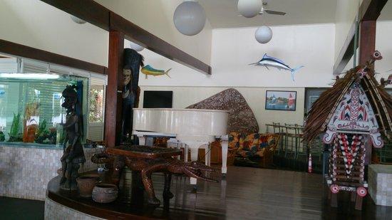 Madang Resort Hotel: Haus Win dining room at Madang Hotel Resort