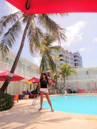 Decameron Boutique Los Delfines : la piscina tiene el agua espectacular