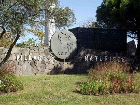 Cap d'Agde Naturist Village: Village Naturists Entrance