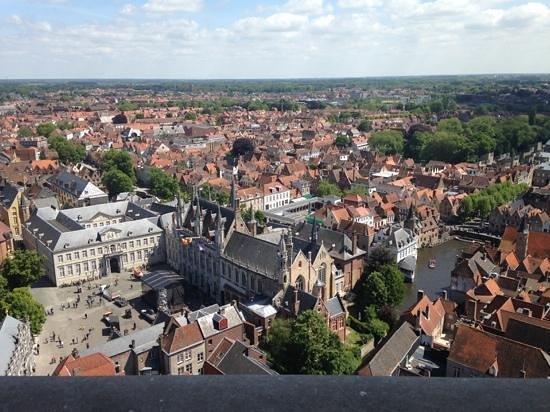 Brugge from the Belfort