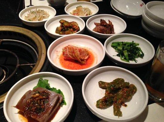 Hangang Korean Cuisine: panchan sampling