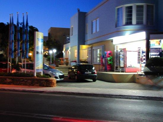 Indgang Futura Hotel