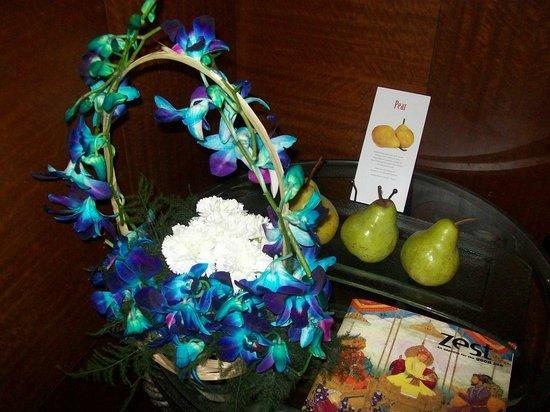 ITC Maurya, New Delhi : welcome bouquet