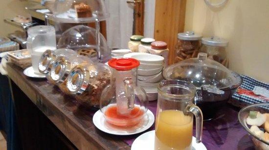 Locanda Cairoli: Desayuno completito.