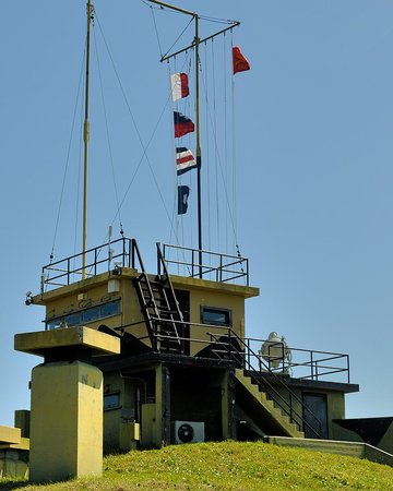 Fort Sumter National Monument: World War II signal tower at Fort Moultrie