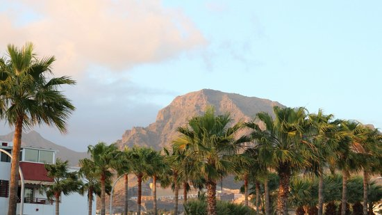 Iberostar Las Dalias : view of some of the mountains