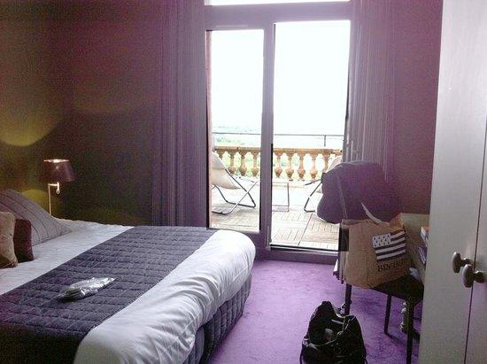 Domaine de la Corniche: chambre superieure Seine