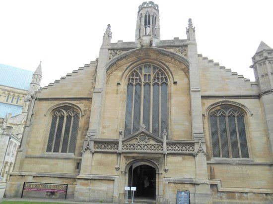 Church of St. Michael le Belfrey: Front View of St Michael le Belfrey