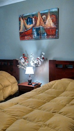Hostal Millaray : habitación doble primer piso