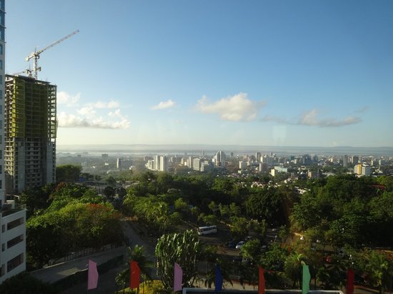 Cebu Plaza Hotel: 部屋からの眺望