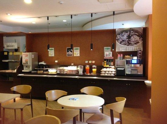 Hotel 123  Kobe: 朝食会場
