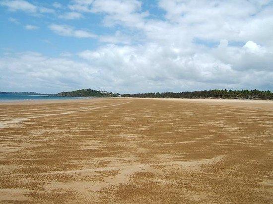 Sarina Beach Motel: Big tidal beach