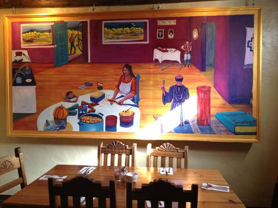 Ranchos Plaza Grill: Gorgeous original artwork