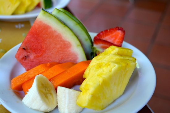 Villa del Sueño: Breakfast Fruit Plate