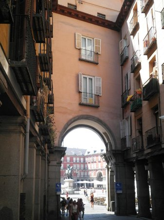 Hotel Plaza Mayor: Plaza Mayor from outside Restorante Plaza Mayor