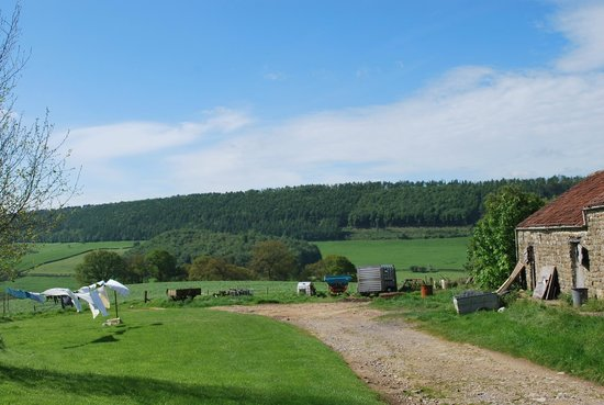 Easterside Farm: View towards Hawnby